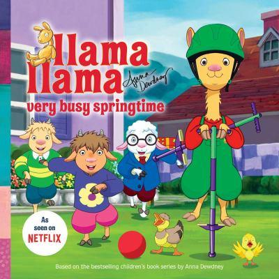 Cover image for Llama Llama : very busy springtime!