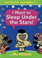 Cover image for I want to sleep under the stars!