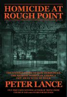 Cover image for Homicide at Rough Point