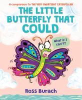 Cover image for The little butterfly that could