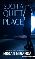 Cover image for Such a quiet place [large type] : a novel