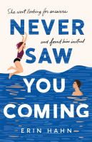 Cover image for Never saw you coming