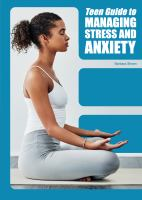 Cover image for Teen guide to managing stress and anxiety