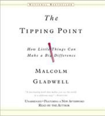 Cover image for The tipping point [sound recording (book on CD)] : [how little things can make a big difference]