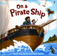 Cover image for On a pirate ship
