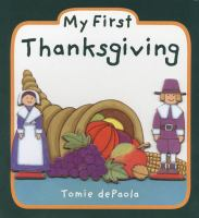 Cover image for My first Thanksgiving