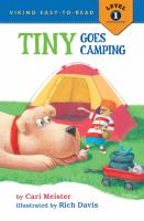 Cover image for Tiny goes camping
