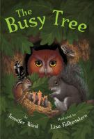 Cover image for The busy tree