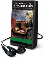 Cover image for Shakespeare for children [sound recording (Playaway)]