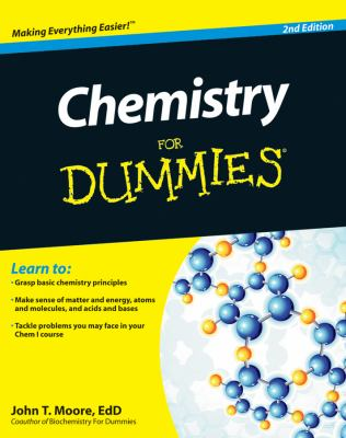 Cover image for Chemistry for dummies