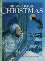 """Cover image for The night before Christmas : told in signed English : an adaptation of the original poem """"A visit from St. Nicholas"""" by Clement C. Moore"""