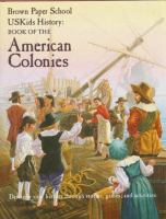 Cover image for USKids history : Book of the American colonies
