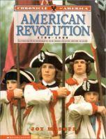 Cover image for American Revolution, 1700-1800 / Joy Masoff.
