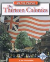 Cover image for The thirteen colonies