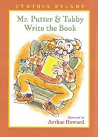 Cover image for Mr. Putter & Tabby write the book