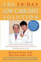 Cover image for The 30-day low-carb diet solution
