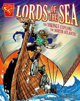 Cover image for Lords of the sea : the Vikings explore the North Atlantic