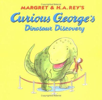 Cover image for Curious George's dinosaur discovery