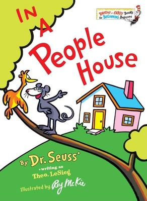 Cover image for In a people house