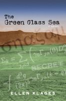 Cover image for The green glass sea