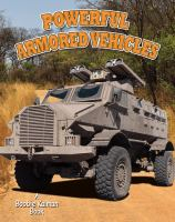 Cover image for Powerful armored vehicles
