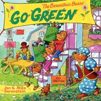Cover image for The Berenstain Bears go green