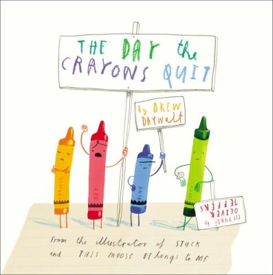 Cover image for The day the crayons quit