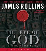 Cover image for The Eye of God [sound recording (book on CD)]
