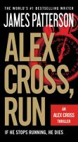 Cover image for Alex Cross, run [large type]