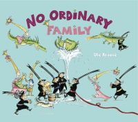 Cover image for No ordinary family
