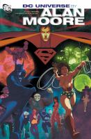 Cover image for DC Universe by Alan Moore.