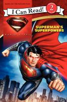 Cover image for Man of Steel : Superman's superpowers
