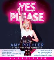 Cover image for Yes please [sound recording (book on CD)]