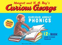 Cover image for Margret and H.A. Rey's Curious George [kit] : curious about phonics.