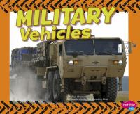 Cover image for Military vehicles