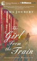Cover image for The girl from the train [sound recording (book on CD)]