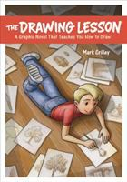 Cover image for The drawing lesson : a graphic novel that teaches you how to draw