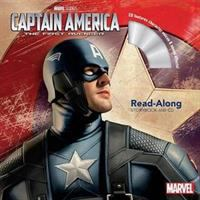 Cover image for Captain America, the first avenger : read-along storybook and CD