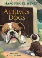 Cover image for Album of dogs