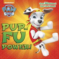 Cover image for Pup-fu power!