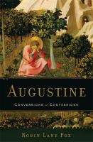 Cover image for Augustine : conversions to confessions