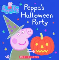 Cover image for Peppa's Halloween party.