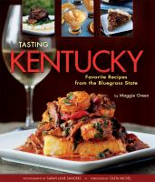 Cover image for Tasting Kentucky : favorite recipes from the Bluegrass State
