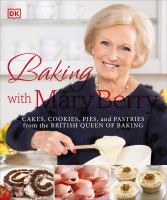Cover image for Baking with Mary Berry.