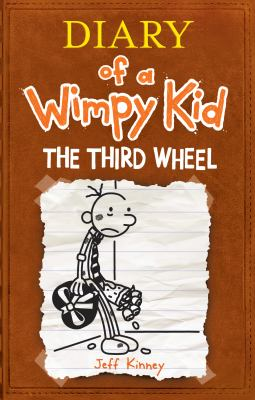 Cover image for Diary of a wimpy kid [large type] : the third wheel