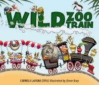 Cover image for Wild zoo train