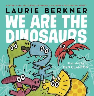 Cover image for We are the dinosaurs