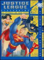 Cover image for Justice League. Season two [videorecording (DVD)]