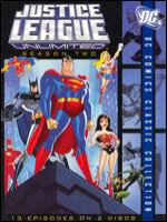 Cover image for Justice League unlimited. Season two [videorecording (DVD)].