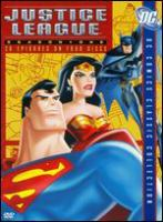 Cover image for Justice League. Season one [videorecording (DVD)].